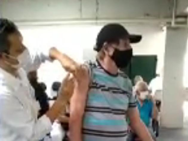 Filho denuncia falsa aplicação de vacina em idoso na zona sul de São Paulo