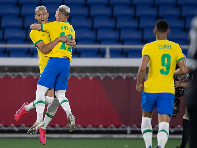 Jogos de Tóquio: Brasil leva susto, mas vence Alemanha com hat-trick de Richarlison
