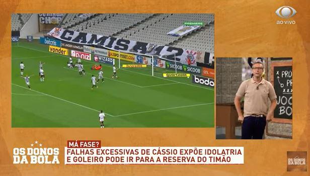 """Neto reprova declarações de Cássio: """"Você não aceita ser criticado?"""""""