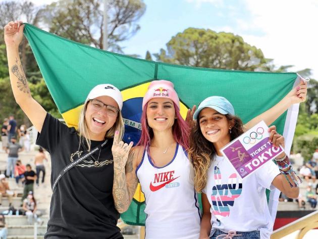 Fim de semana promete ser histórico para o skate brasileiro em Tóquio