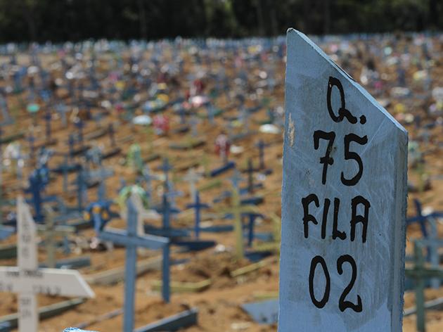 Brasil bate recorde de mortes em 24h em pior dia da pandemia