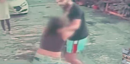 Preso homem que agrediu a companheira grávida e atropelou vizinhas