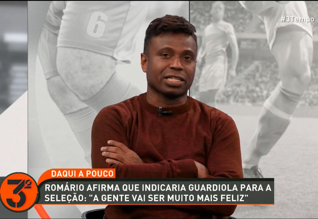 """""""Me preocupa muito o Tite na Seleção Brasileira"""", diz Edílson após vice na Copa América"""