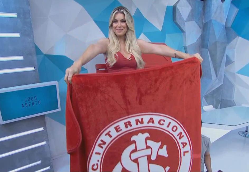 Cincun! Renata Fan festeja goleada do Inter no São Paulo e diz: 'eu tenho direito de sonhar'