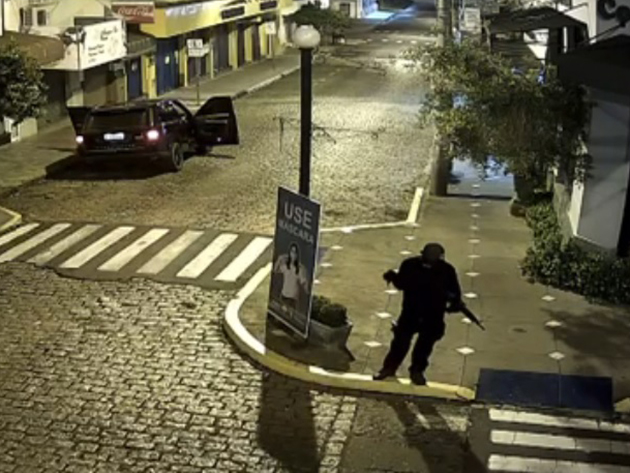 Mococa, no interior de São Paulo, é alvo de ataque criminoso