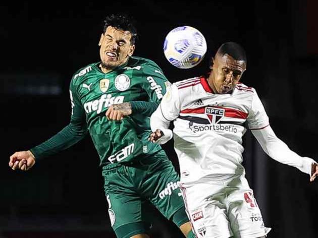 São Paulo e Palmeiras empatam sem gols em partida marcada pela atuação da arbitragem