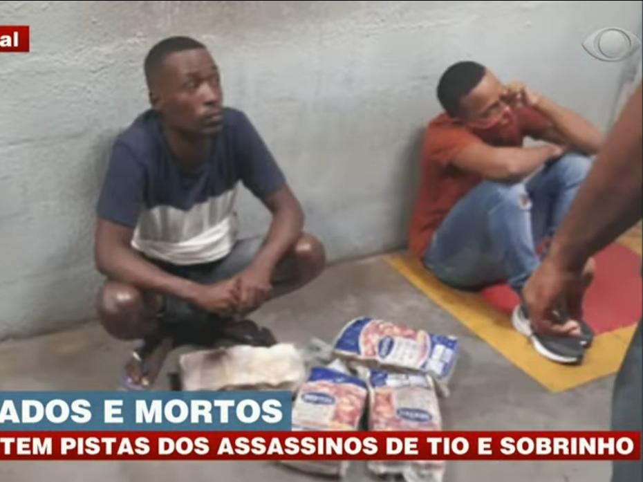 Polícia tem pistas sobre morte de tio e sobrinho após furto de carne