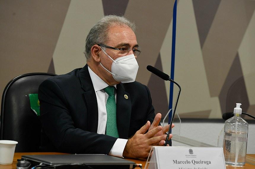 Queiroga irrita senadores da CPI da Pandemia; representantes das vacinas serão ouvidos