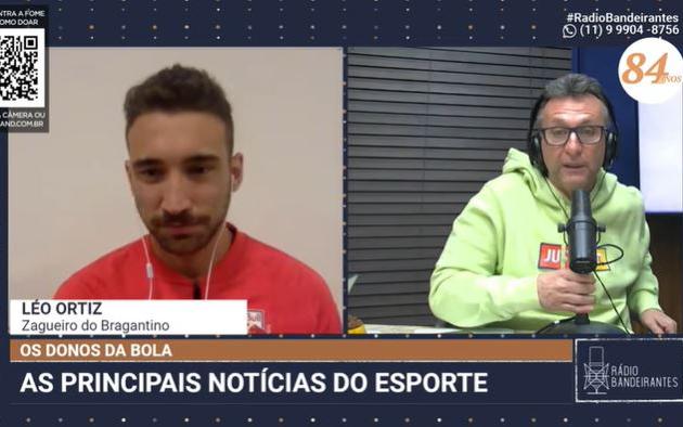 """""""Muitos precisam ser vacinados antes dos jogadores"""", diz zagueiro do Bragantino"""