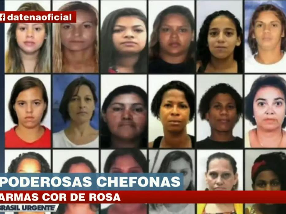 Poderosas chefonas: Cresce a participação de mulheres no crime organizado do RJ