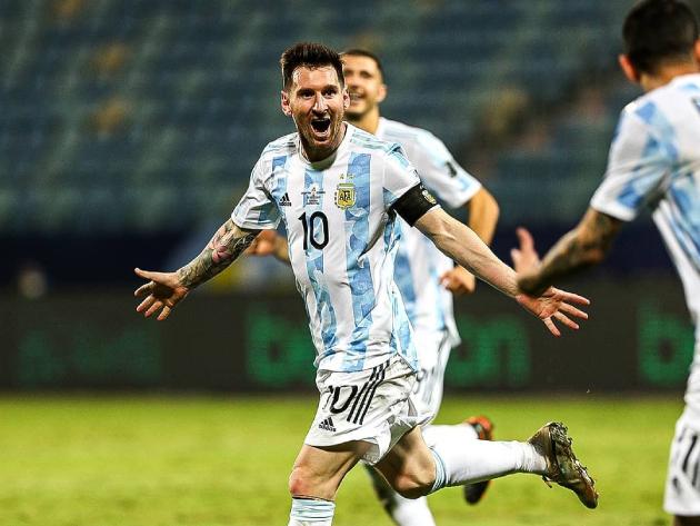 Brasil é melhor, mas Messi é o maior
