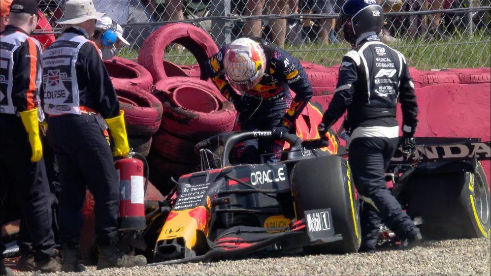 Red Bull revela prejuízo de R$ 9 milhões com acidente de Verstappen