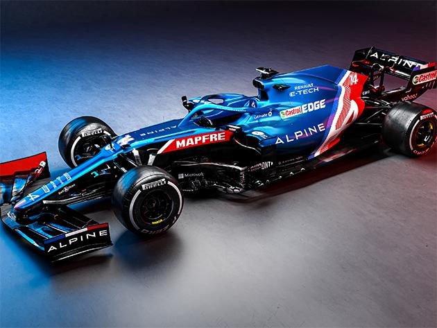 Alpine apresenta carro que marca a volta de Alonso à Fórmula 1