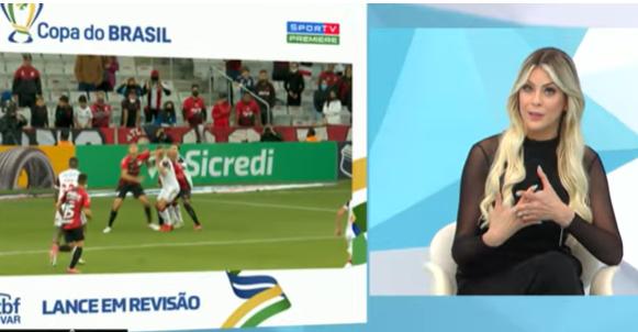 Varmengo? Renata e Denílson discutem polêmicas de Athletico 2 x 2 Flamengo