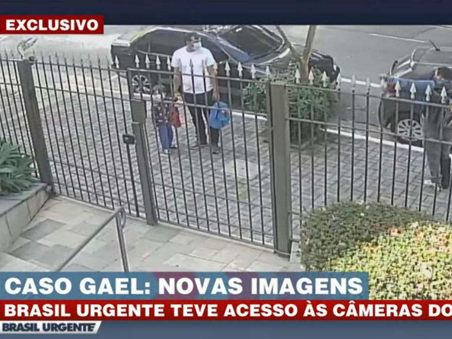 Imagens mostram últimas 24 horas antes da morte de Gael em SP
