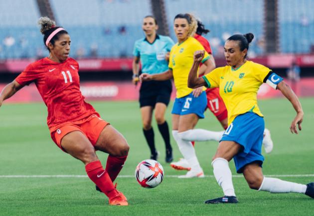 Brasil perde para o Canadá nos pênaltis e cai nas quartas do futebol feminino