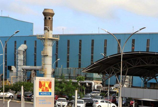Novelis emprega atualmente 1.300 pessoas em Pinda