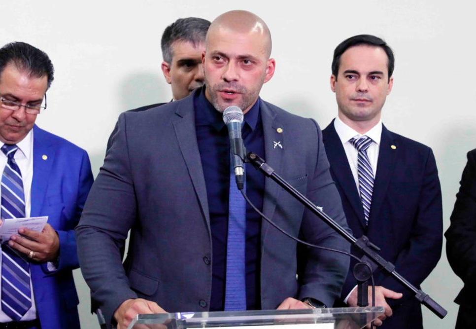 Daniel Silveira, deputado federal do PSL