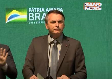 """Não vai ter lockdown nacional"", afirma Bolsonaro"