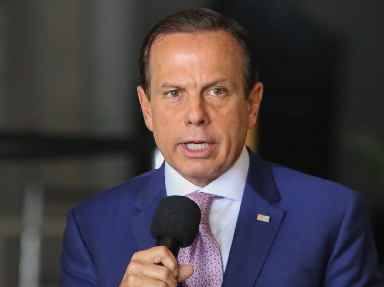 Pré-candidato à Presidência, Doria sugere acabar com reeleição se for eleito