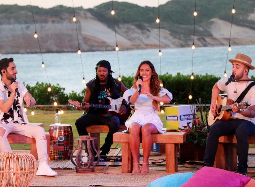 """Melim apresenta show exclusivo no """"Música na Band Verão"""" desta sexta-feira"""