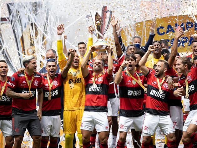 Flamengo foi bicampeão da Supercopa em cima do Palmeiras