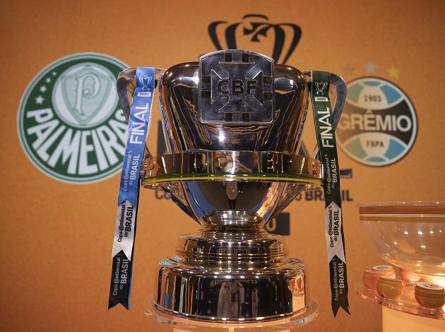 Palmeiras e Grêmio se enfrentam pela taça da Copa do Brasil