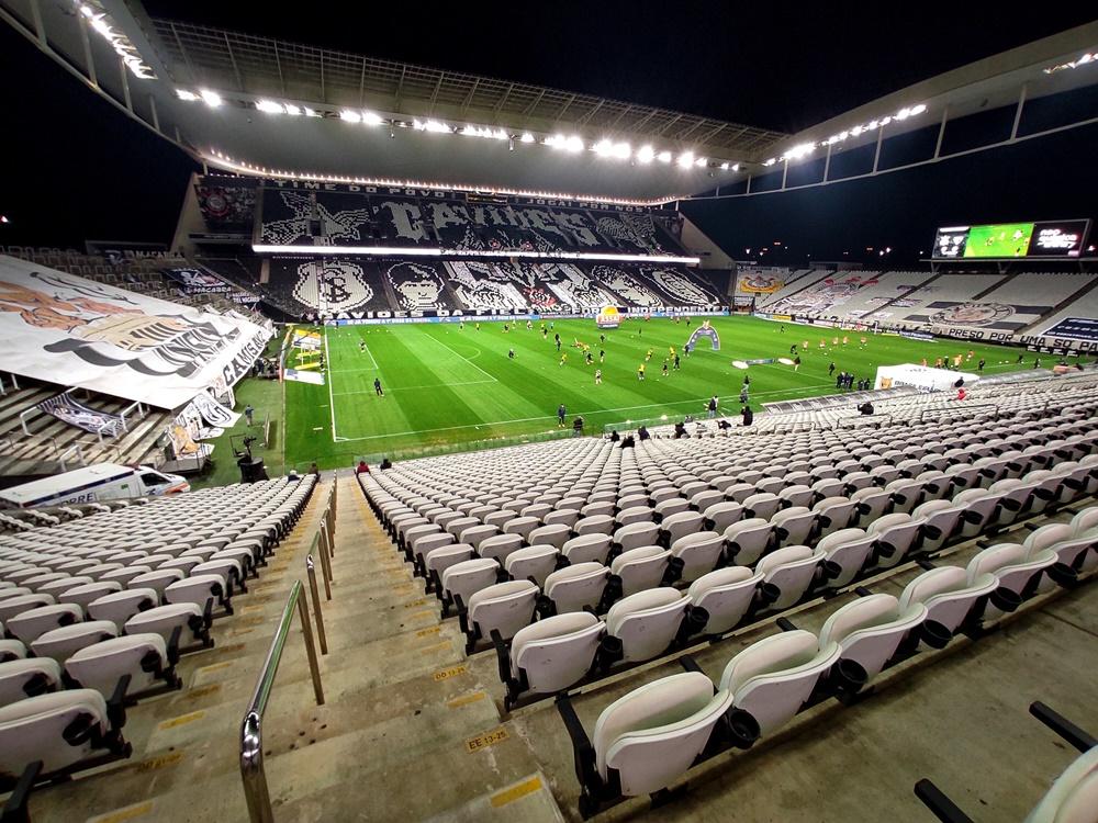 Neo Química Arena, estádio do Corinthians, será um dos que poderão ter público novamente