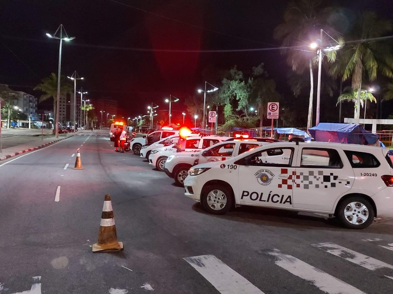 Operação contra o fluxo em Caraguatatuba apreende 19 veículos