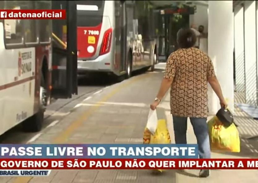 Batalha judicial mantém tarifa de transporte para idosos de 60 anos em SP