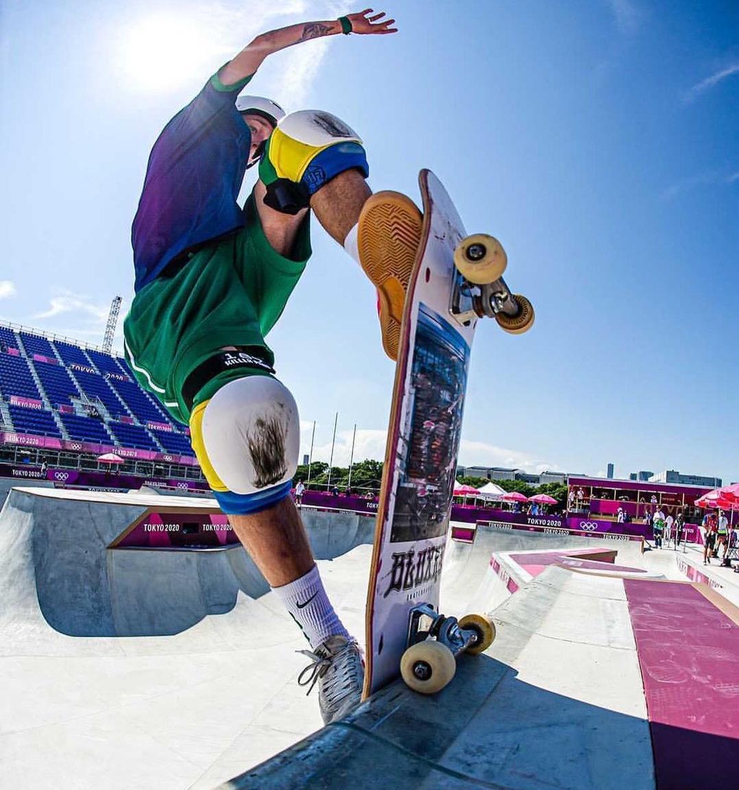 Luizinho de Lorena fica em 4º no skate park
