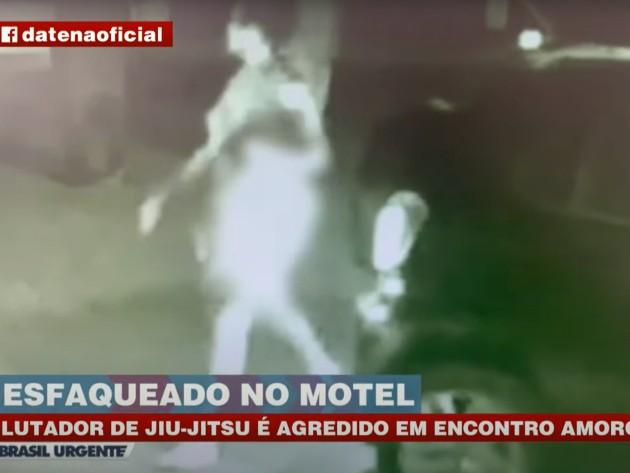 Lutador de jiu-jitsu é agredido e quase morre em encontro amoroso em motel