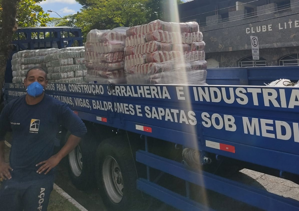 Band contra a Fome: Aço-Fer doa 10,5 toneladas de alimentos para 15 cidades do Vale do Paraíba