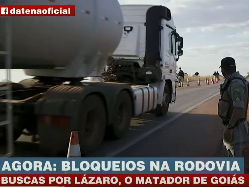 Polícia amplia perímetro de buscas por Lázaro Barbosa em Goiás