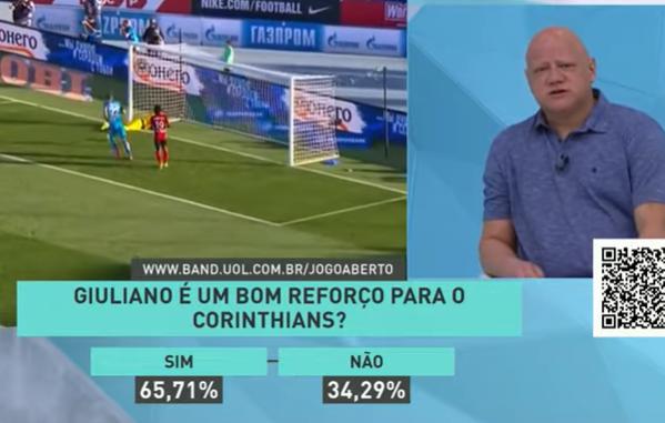 Corinthians: Ronaldo elogia Giuliano e é otimista com Renato Augusto