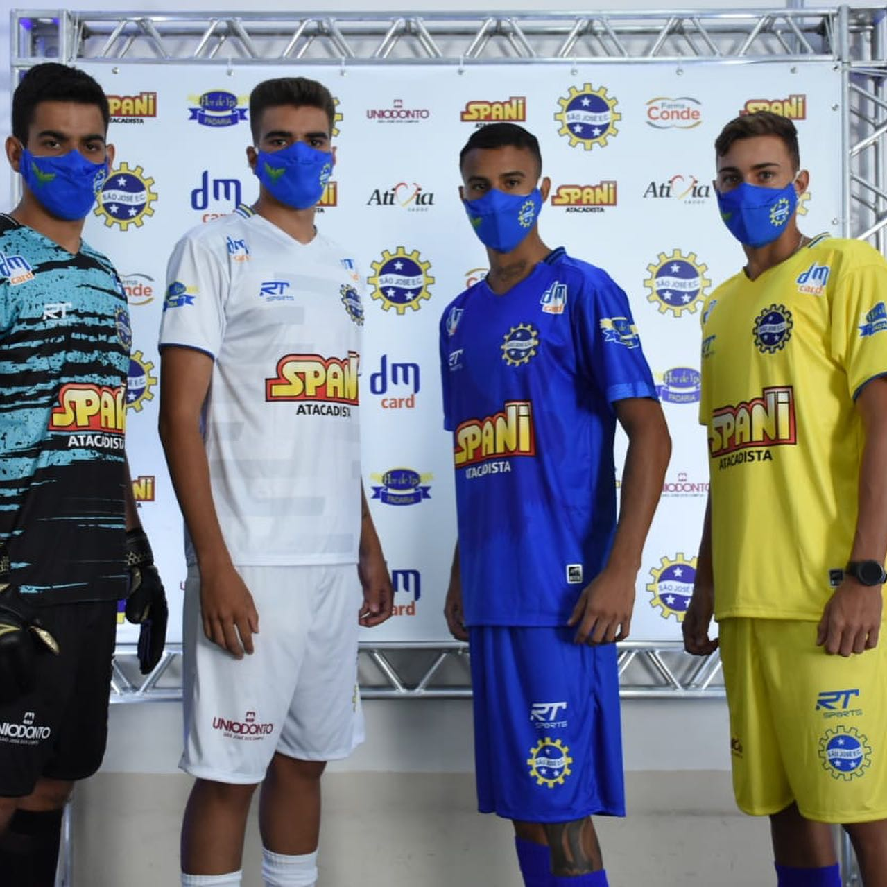 Uniformes do São José para a disputa da Série A3