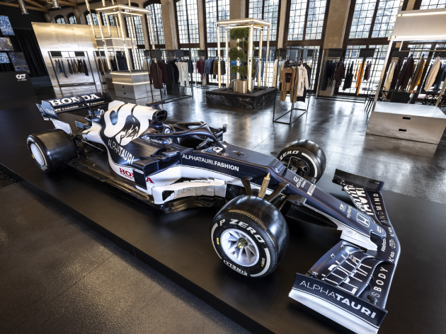 AlphaTauri apresenta o AT02, seu novo carro para a temporada 2021 da Fórmula 1