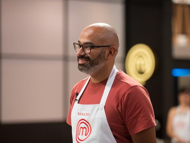 Renato faz o melhor prato do 3º episódio do MasterChef