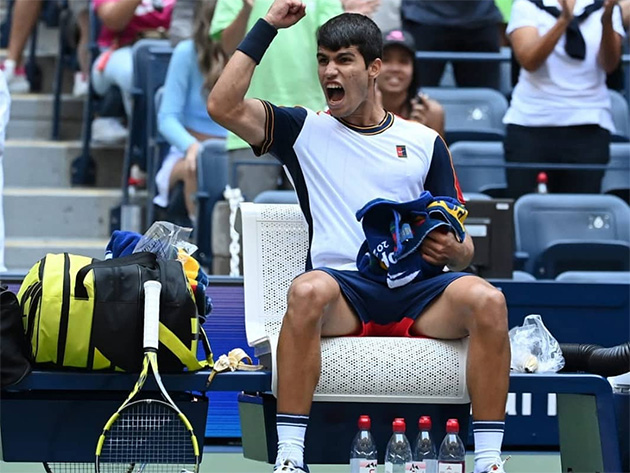 """Aliassime se rende a Alcaraz antes de duelo no US Open: """"Será o melhor do mundo por muitos anos"""""""