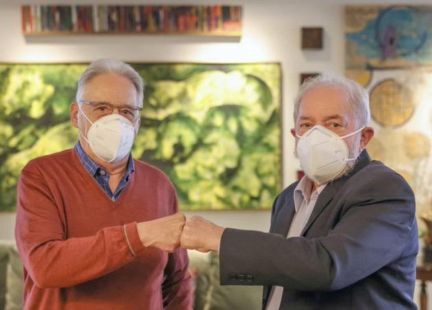FHC e Lula em encontro promovido por Nelson Jobim
