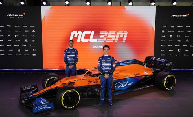Com volta do motor Mercedes, McLaren é 1ª a lançar carro para temporada da F1