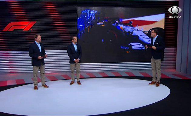 """Show de Hamilton e """"cala a boca"""" de Pérez: equipe da Band analisa grid de Emilia-Romagna"""