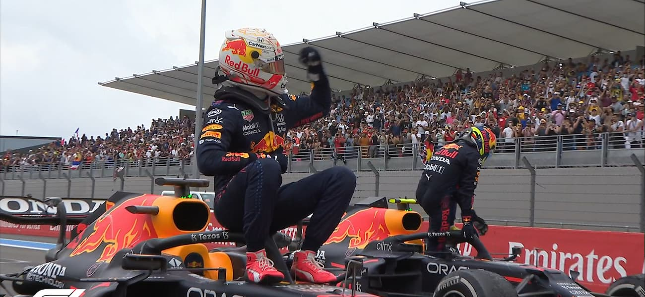 F1: Max Verstappen vence o GP da França na penúltima volta