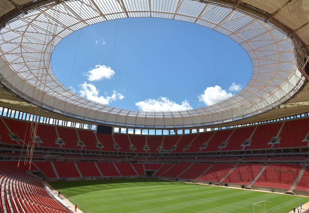 A abertura da Copa América será neste domingo.