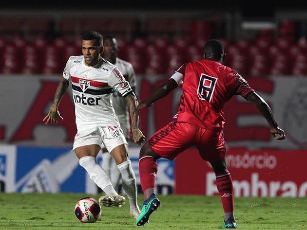Na estreia de Crespo, São Paulo fica no empate com Botafogo pelo Campeonato Paulista