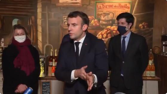 Macron defende que União Europeia pare de comprar soja do Brasil