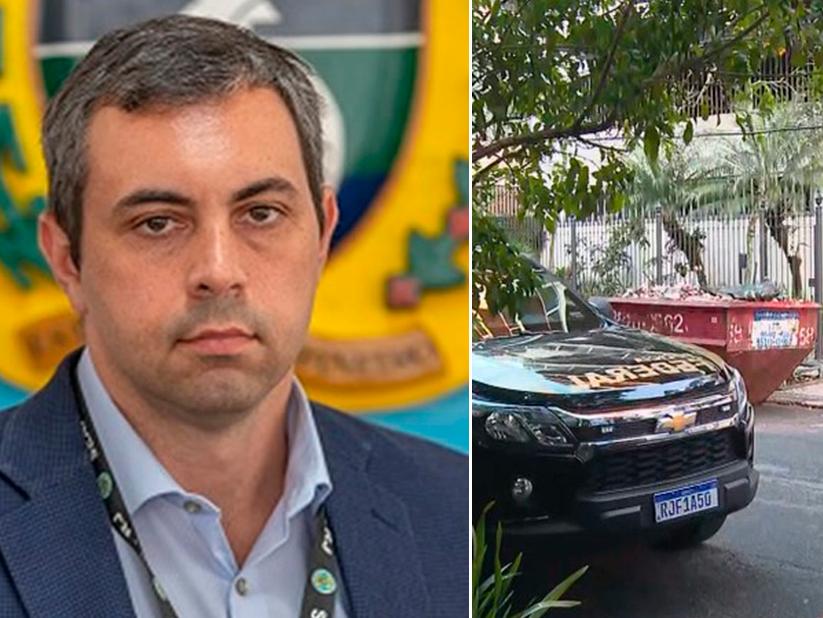 Secretário de administração penitenciária do Rio de Janeiro é preso pela Polícia Federal
