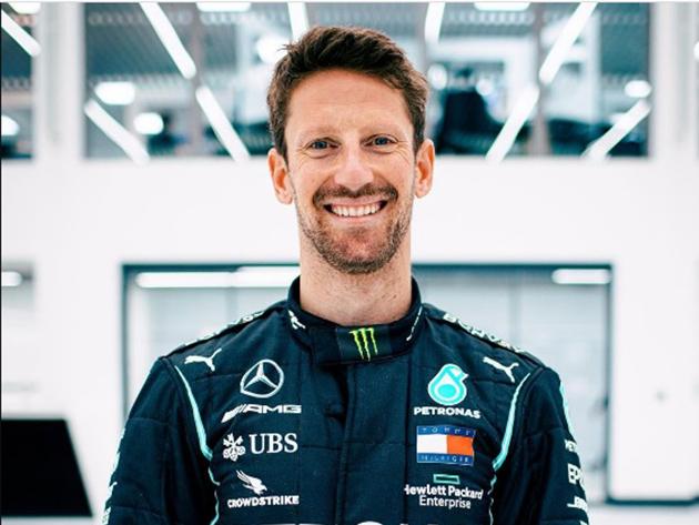 Grosjean retorna à Fórmula 1 e vai pilotar carro de Hamilton