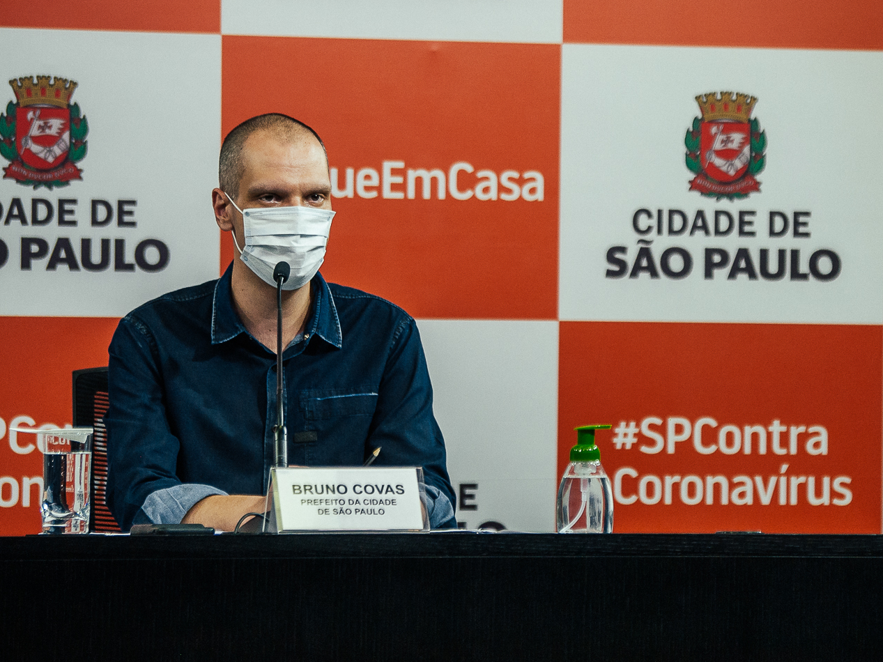 Bruno Covas é extubado, mas ainda segue na UTI