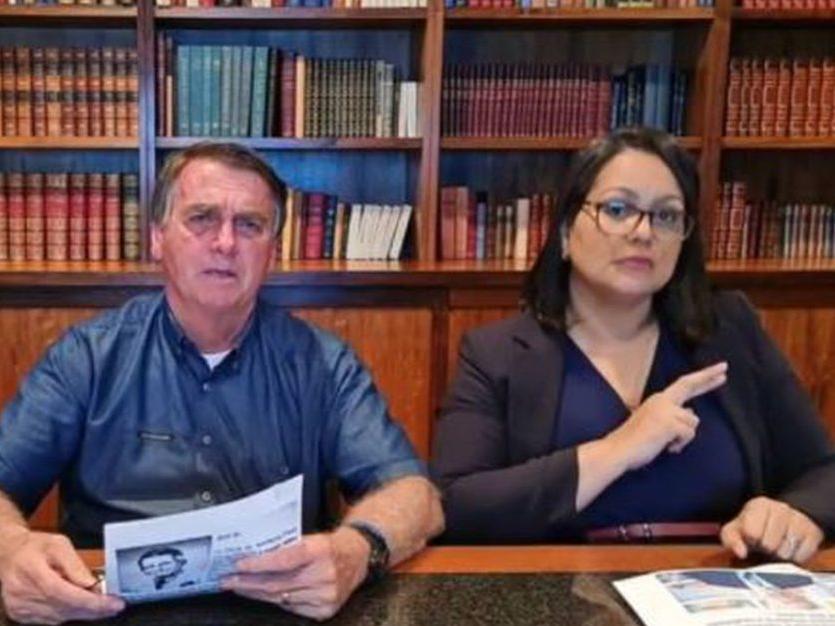 YouTube remove vídeo em que Bolsonaro associa vacina da Covid à Aids e suspende canal